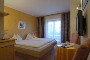 Doppelzimmer Auszeit mit 16 bis 18m2, kleines Zimmer
