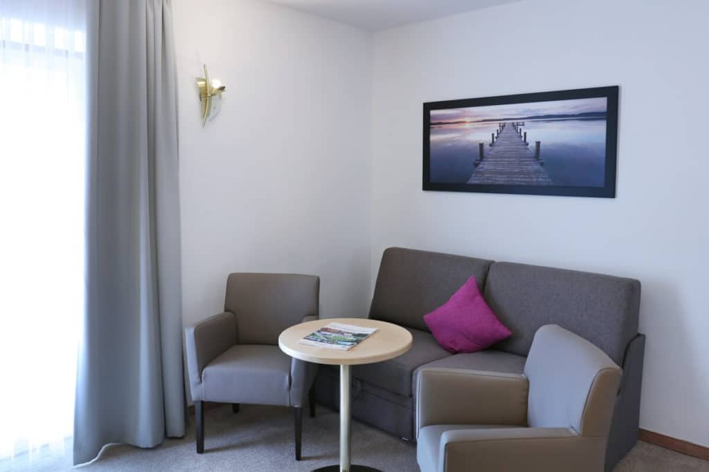 Wohnbereich Familienzimmer Ferienlust mit 35m2