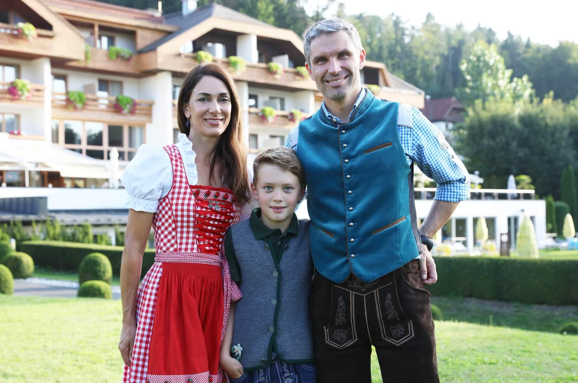 Gastgeber Familie Schneider