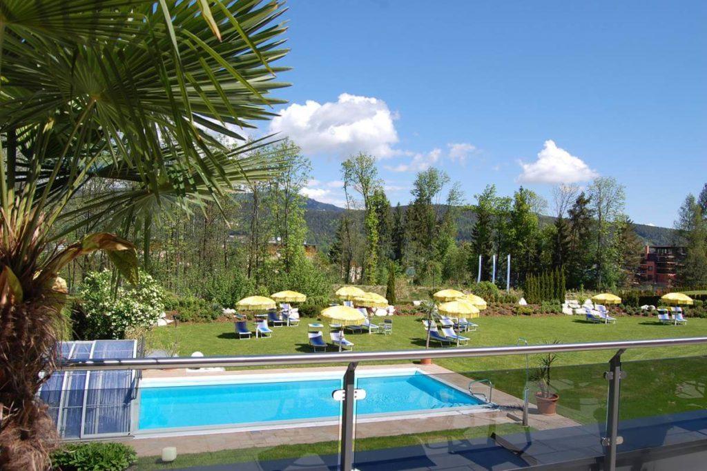 Outdoor Pool Bilder - Deihotel Schönblick am Wörthersee