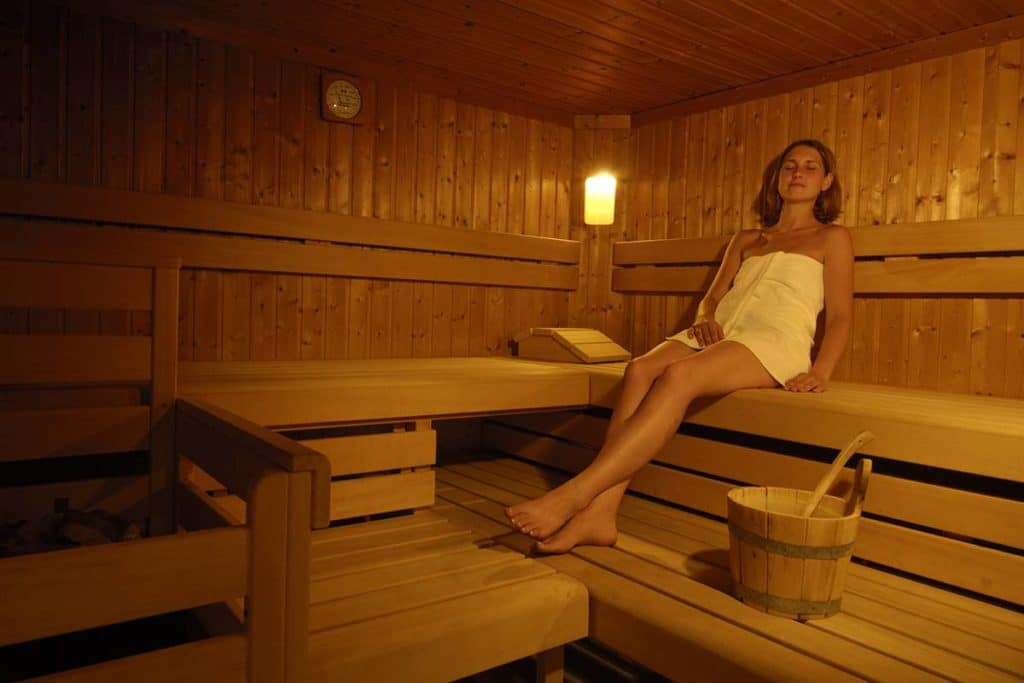 Sauna wellness at Lake Wörthersee