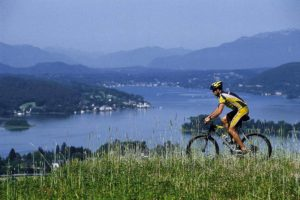 bike at Lake Wörthersee - biking on holiday