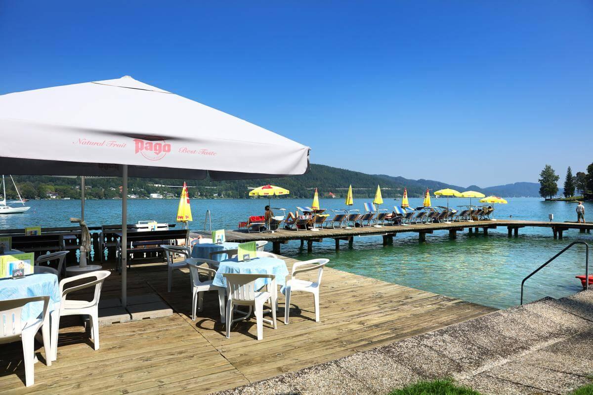 Badestrand Bilder Buffet - Hotel mit Seezugang