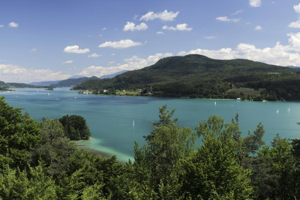 Woerthersee holiday region View