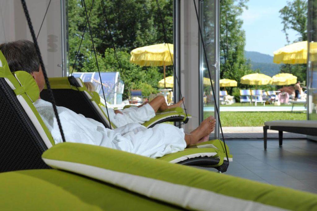 Floating swing Schoenblick Wellness Velden