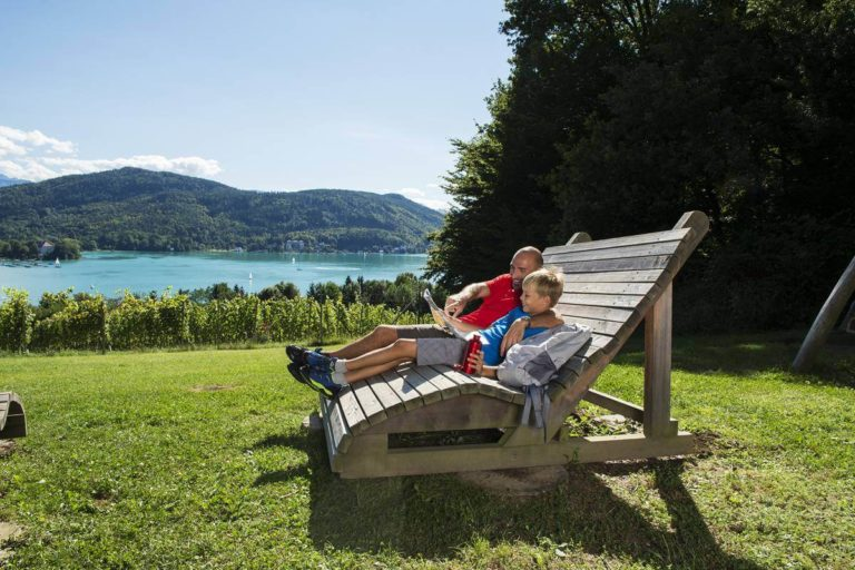 Seetrail - hiking at Lake Wörthersee - packages and offers