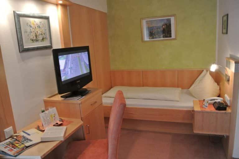 Einzelzimmer Erholungslust 12-14m2 - Deihotel Schönblick