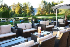 Lounge beautiful terrace on the Wörthersee