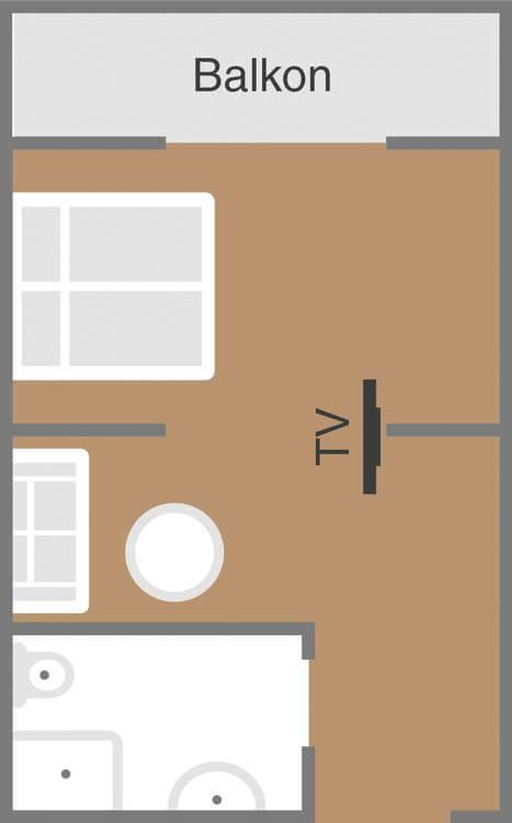Skizze Zimmer Badelust Deihotel Schoenblick Velden