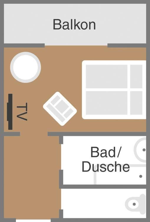 Sketch room Carinthia Dei Hotel Schoenblick Velden