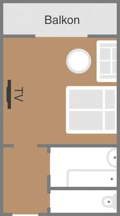 Skizze Zimmer Genusslust Deihotel Schoenblick Velden