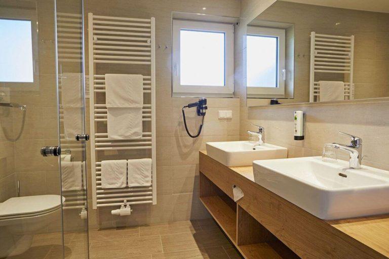 Familienzimmer Ferienlust - Badezimmer